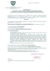 Rejestr Organizatorów Turystyki